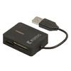 Kártyaolvasó Multicard USB 2.0 Fekete