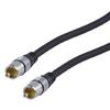 Digitális Audio Kábel RCA Dugó - RCA Dugó 1.50 m Sötétszürke