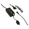Univerzális Hálózati Adapter 3 / 4.5 / 5 / 6 / 7.5 / 9 / 12 VDC 2.25 A Fekete