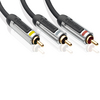 Profigold PROV5305 High Performance Audio Video Interconnect 5m