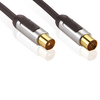 Profigold PROV8701 High performance Interconnect coaxial antenna cable straight 1.00 m