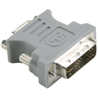 Bandridge BCP146 DVI-Adapter DVI-A 12+5-Pins Male - VGA Female 15-Pins Grijs image