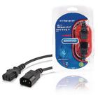 IEC C13-verlengsnoer IEC-320-C14 - IEC-320-C13 5,0 m zwart
