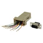 Adapter DB9M - RJ45F 8p