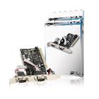 2-poorts serieel PCI kaart