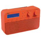 König HAV-DABR100RE DAB+ radio 20 voorkeurzenders en alarmklok rood
