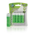 Batterij NiMH AA/LR6 1.2 V 2300 mAh R2GO 4-blister