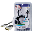 HQ - HIGH QUALITY HDMI-DVI ANSLUTNINGSKABEL - 3 METER