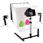 Foldable Mini Photo Studio Halogen 40 x 40 x 40 cm