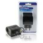 AC / DC adapter voor gebruik in auto's