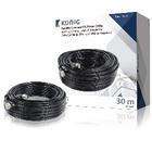 Coax-kabel RG59 voor beveiligingscamera en DC-voeding 30,0 m