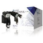 Buitenlamp met geïntegreerde camera en bewegingssensor