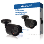 Beveiligingscamera voor gebruik binnen- en buitenshuis