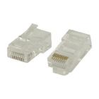 Easy use RJ45 connectoren voor stranded UTP CAT5 kabels