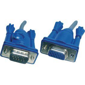 KVM Cable VGA Female - VGA Male 6.0 m