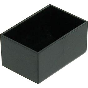 Potting box 20 x 30 x 15 mm Black ABS PU = 10 st