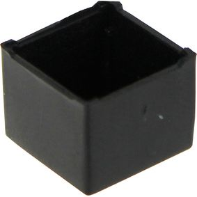 Potting box 11 x 11 x 9 mm Black ABS PU = 10 st