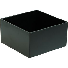 Potting box 75 x 75 x 40 mm Black ABS PU = 10 st