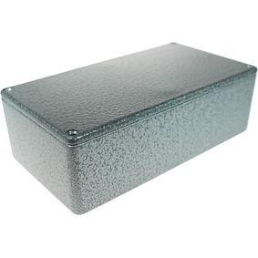 Metal enclosure, Grey, 82 x 152 x 50 mm, Die-Cast Aluminium, IP54