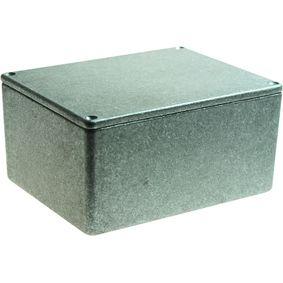 Metal enclosure, Grey, 95 x 121 x 61 mm, Die-Cast Aluminium, IP54