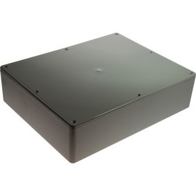 Plastic enclosure 200 x 250 x 65 mm Grey ABS, High-Impact IP54