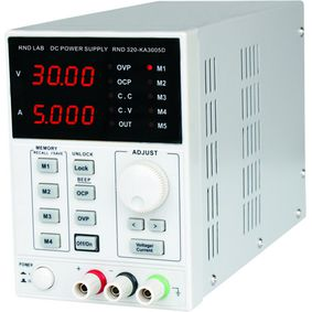 Laboratory Power Supply 1 Ch. 0...30 VDC 5 A, No