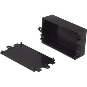 Plastic enclosure 44 x 72 x 27 mm Black ABS