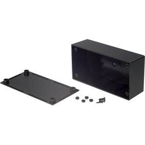 Plastic enclosure 68 x 130 x 44 mm Black ABS