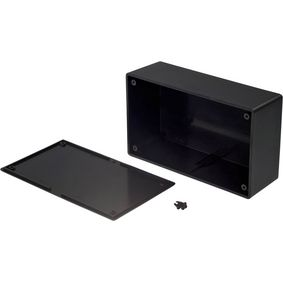Plastic enclosure 90 x 151 x 53.2 mm Black ABS