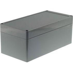 Plastic enclosure 120 x 240 x 100 mm Dark Grey ABS IP65