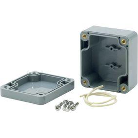 Plastic enclosure 58 x 64 x 35 mm Dark Grey ABS IP65
