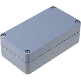 Plastic enclosure 65 x 115 x 40 mm Dark Grey ABS IP65