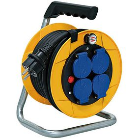 Cable Reel Baby Pro 10m | Type E | IP44