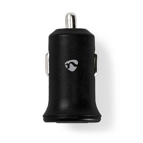Car Charger | 2.4 A | 2-outputs | USB-A | Black