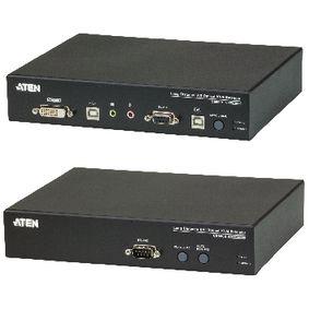 DVI / USB / Audio Optical Extender 20 km