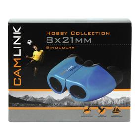 8x21 mm blauwe verrekijker