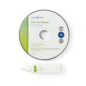 Disc Lens Cleaner | Cleaning Disc | 20 ml | BluRay Player / CD Player / DVD-player