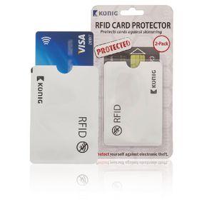 RFID bankpas beschermer | beschermhoes 2-pack