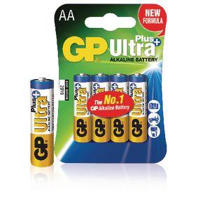 Alkaline Battery AA 1.5 V Ultra+ 4-Blister