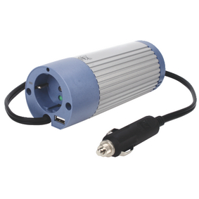 Power Inverter Modified Sine Wave 12 VDC - AC 230 V 100 W F (CEE 7/3) / USB