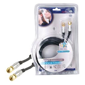 Hoge kwaliteit coax kabel 5,00 m