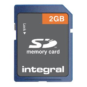 SD (Secure Digital) Memory Card 4 2 GB