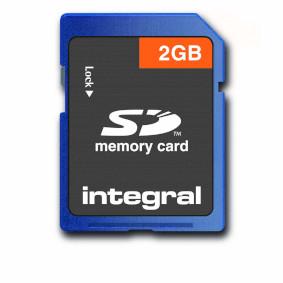 SD (Secure Digital) Memory Card 4 2 GB