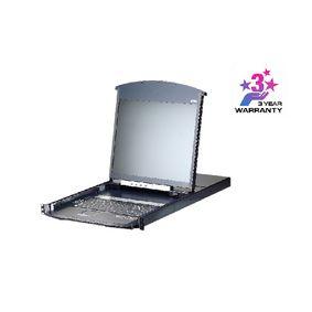 16-Port KVM Switch Black