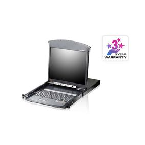 8-Port KVM Switch LCD 17
