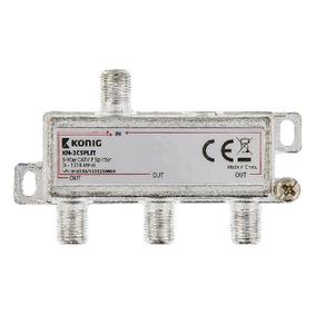 Catv Splitter 8.5 Db / 5-1218MHz - 3 Outputs
