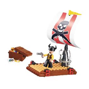 Building Blocks Pirate Serie Pirate Raft