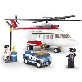 Building Blocks Aviation Serie Helicopter