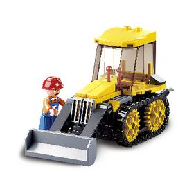 Building Blocks Town Serie Small Bulldozer