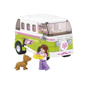 Building Blocks Girls Dream Serie Camper Van